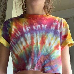 Tops - Tie dye crop top